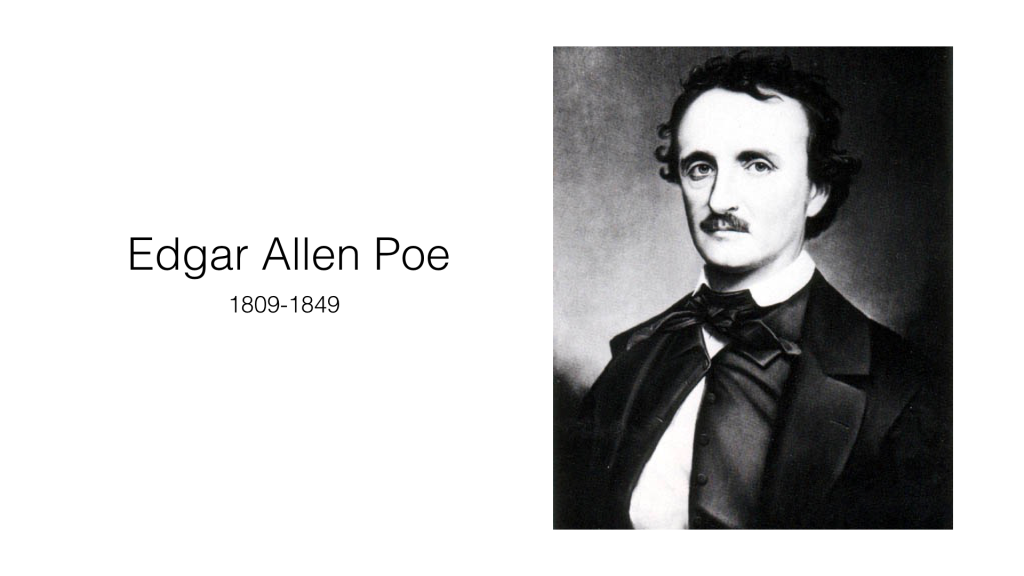 Edgar Allen Poe was known to suffer from Depression