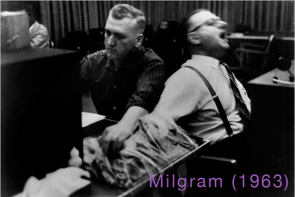 Milgram (1963) - Obedience to Authority