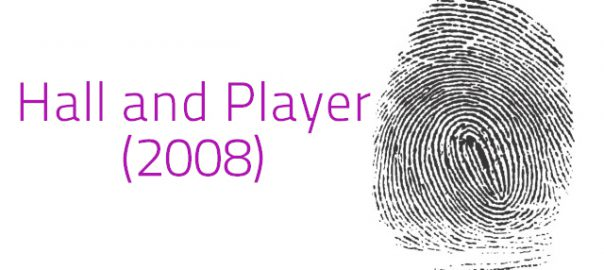 Hall and Player (2008) Criminal Revision H567